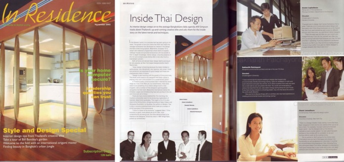 6.In Residence Magazine, Thailand
